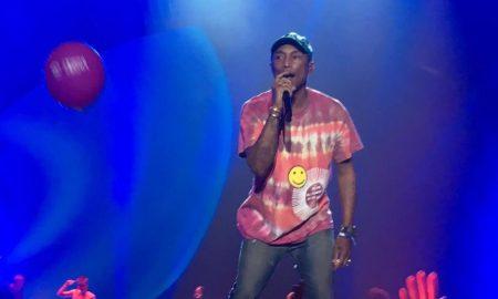 Pharrell Williams. Foto: Reprodução/Twitter