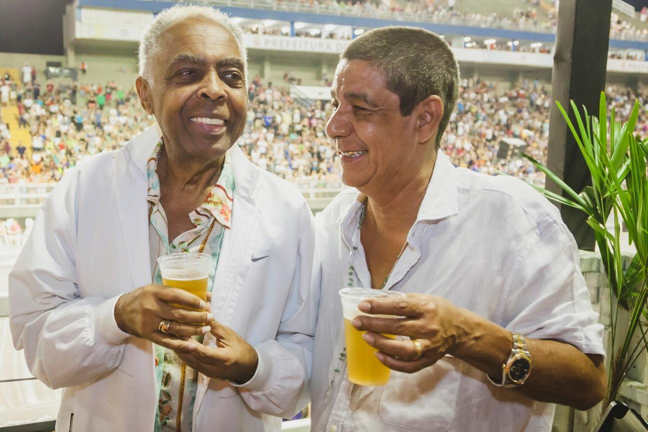 Zeca Pagodinho e Gilberto Gil. Foto: Leo Cavallini/Divulgação.
