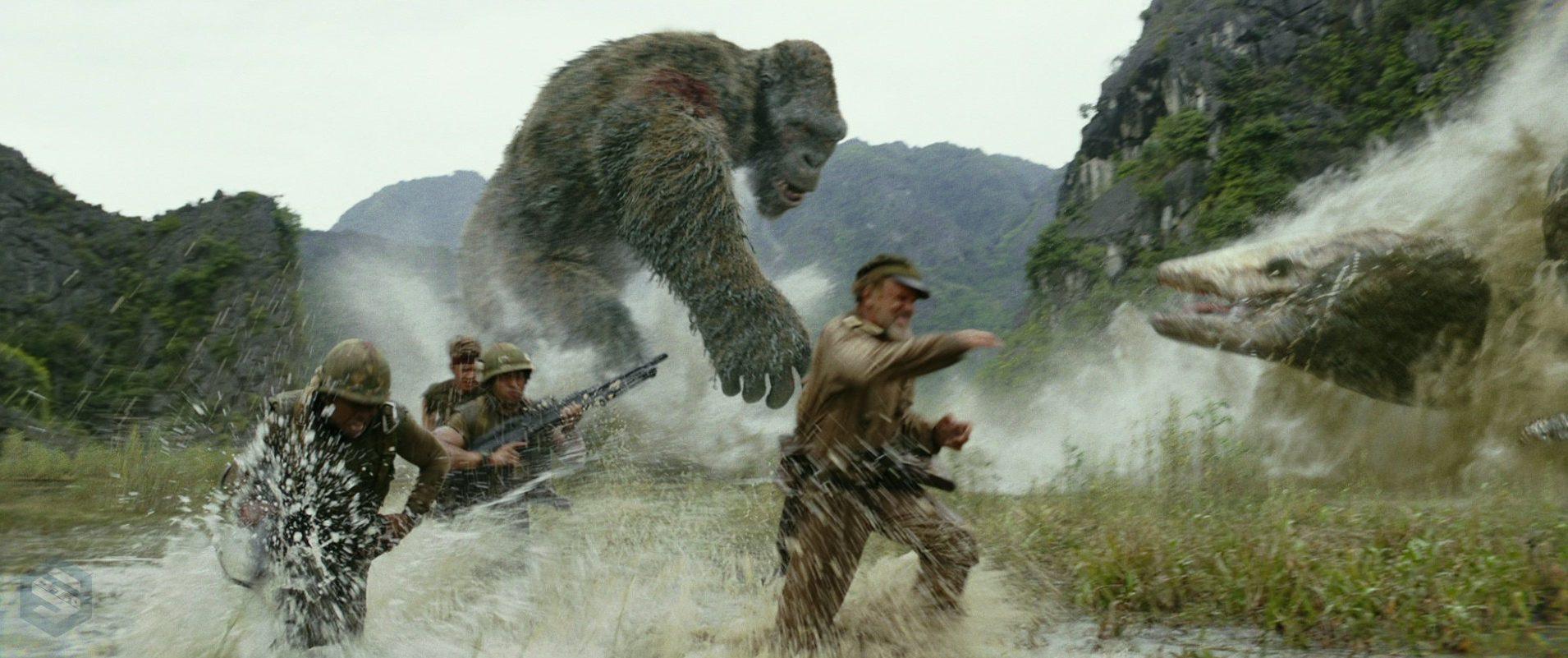 Kong: A Ilha da Caveira. Foto: Divulgação.