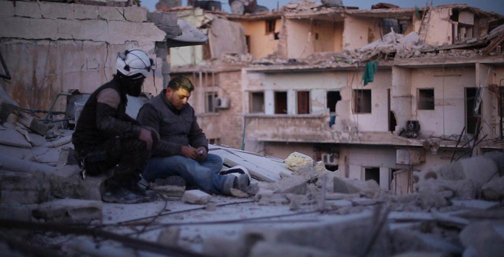 Últimos Homens em Aleppo. Foto: Divulgação.