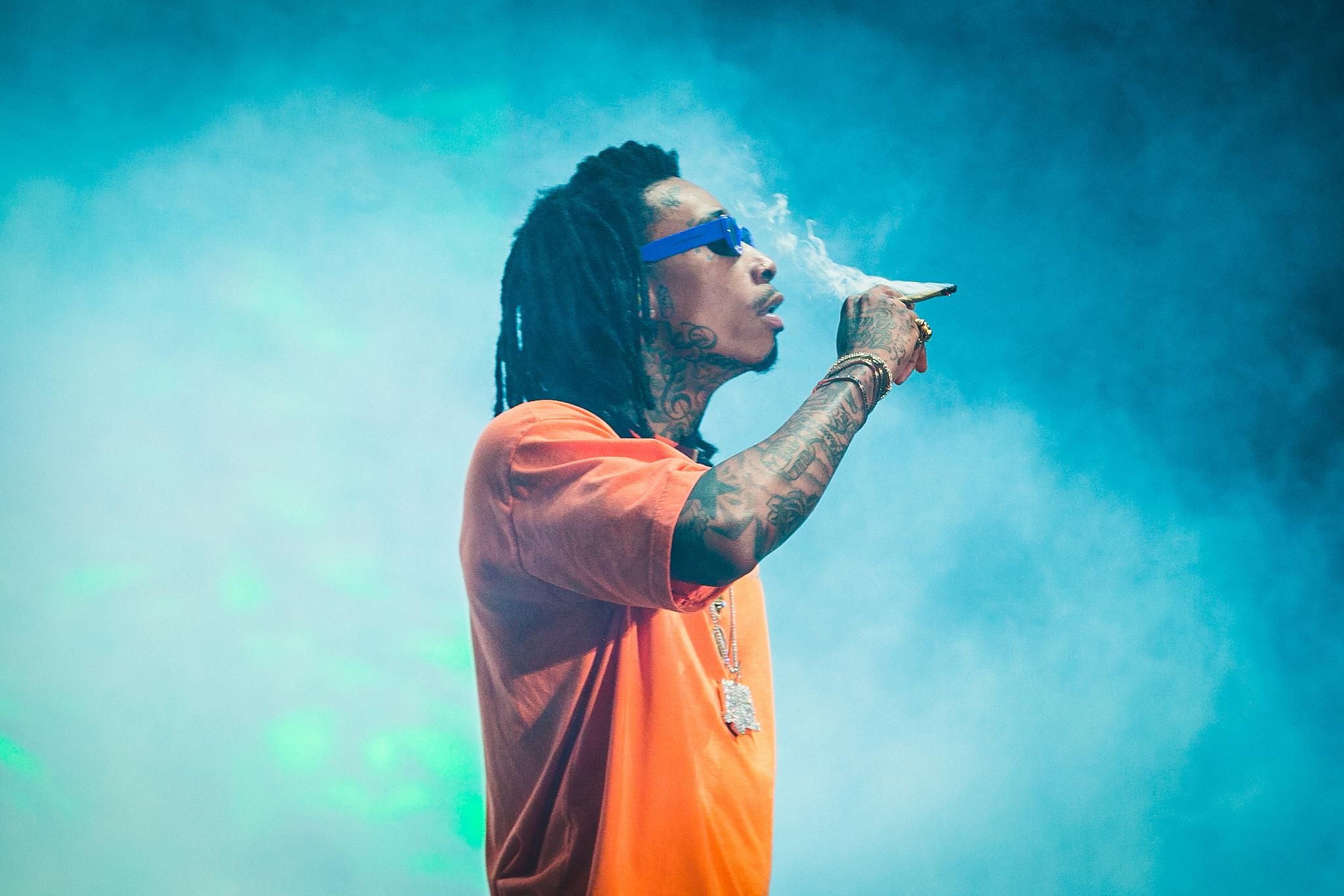 Wiz Khalifa. Foto: Divulgação/I Hate Flash