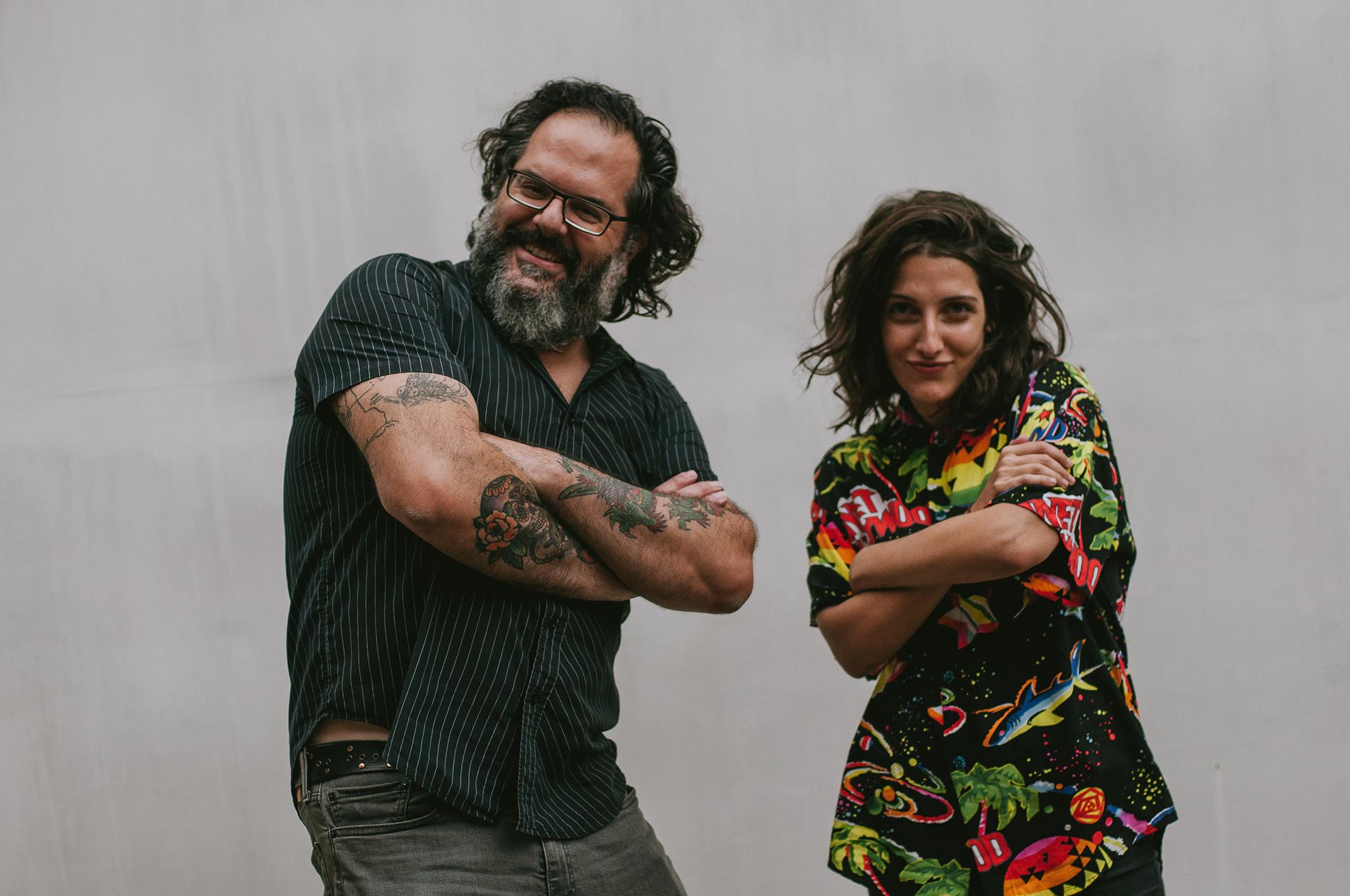 Clarice & João. Foto: Divulgação