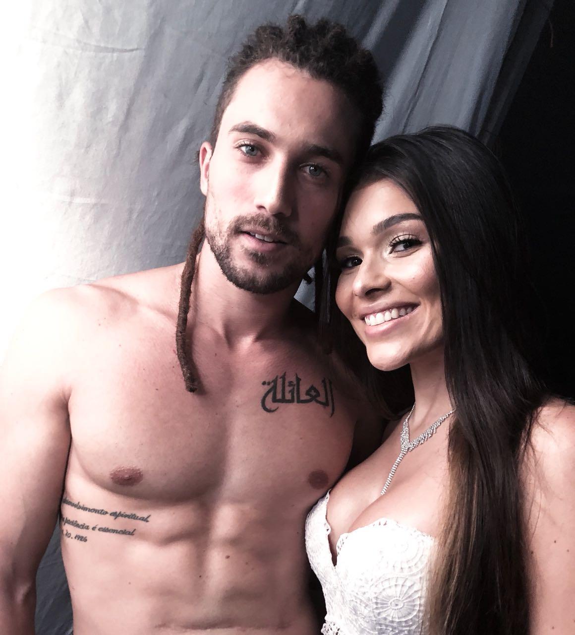 Ricardo Vianna e Lary. Foto: Divulgação