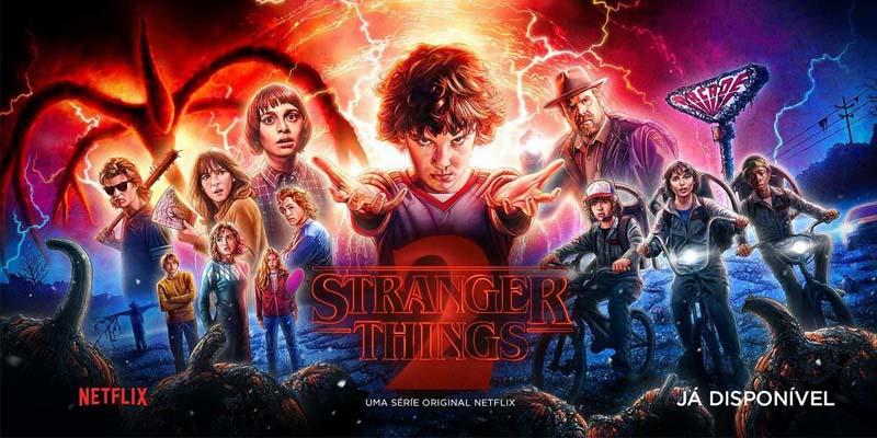 Stranger Things. Foto: Reprodução/Instagram