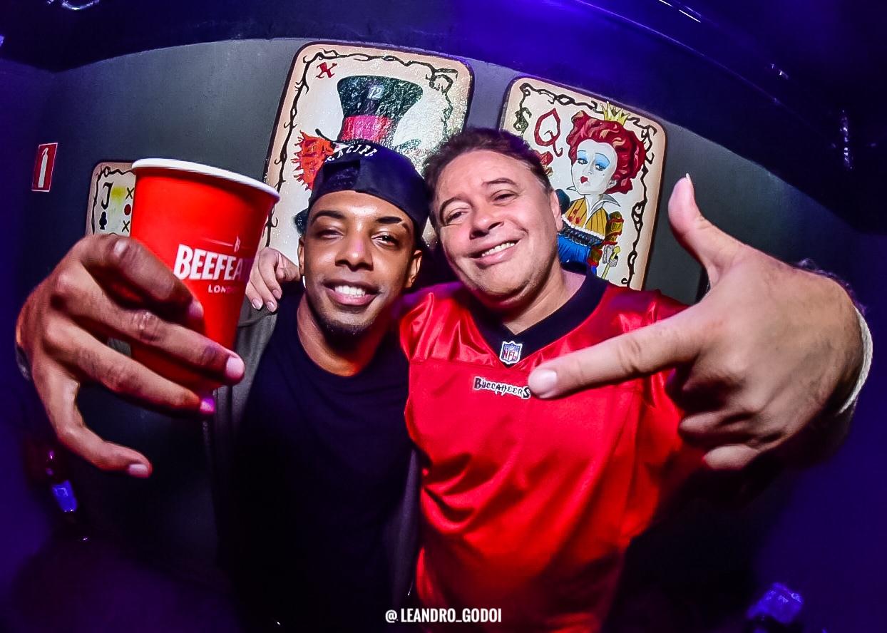 MC TH E DJ Marlboro. Foto: Leandro Godoi e João Barbosa
