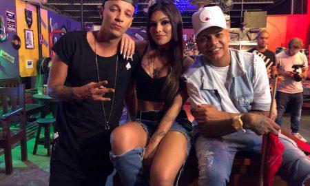Lary, DJ Detona e Duduzinho. Foto: Divulgação