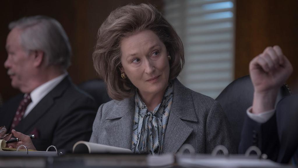 Meryl Streep em The Post. Foto: Divulgação.