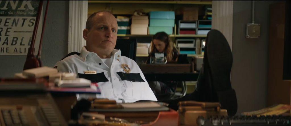Woody Harrelson em Três Anúncios para um Crime. Foto: Divulgação.