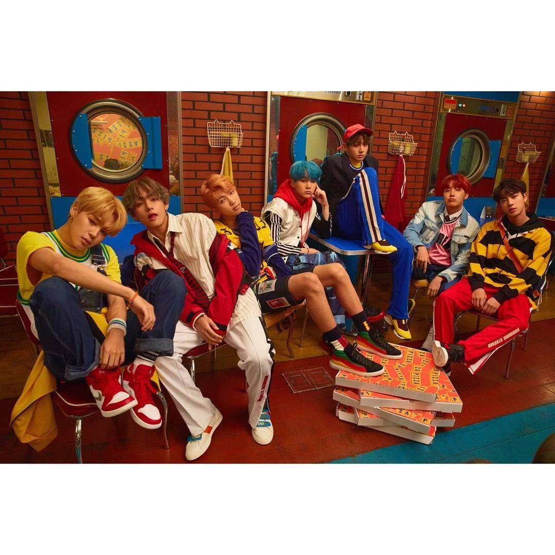 BTS. Foto: Reprodução/Instagram
