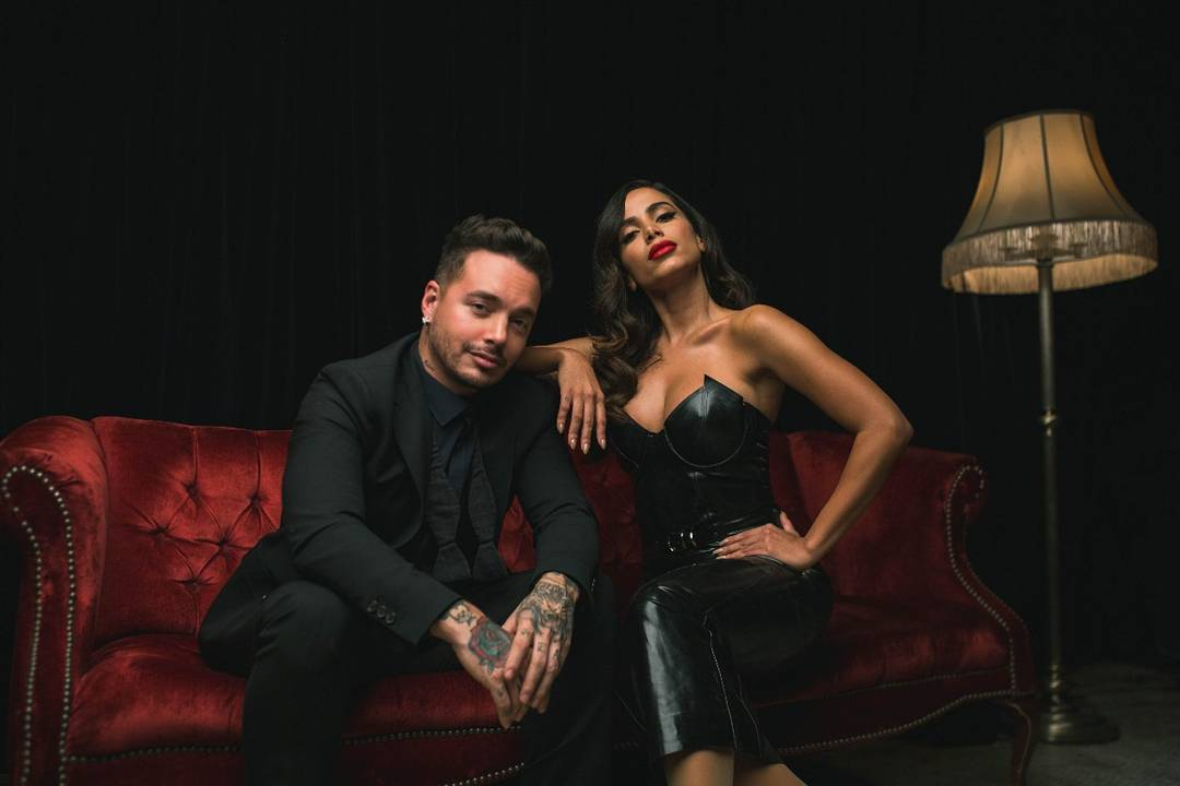 Anitta e J Balvin. Foto: Divulgação