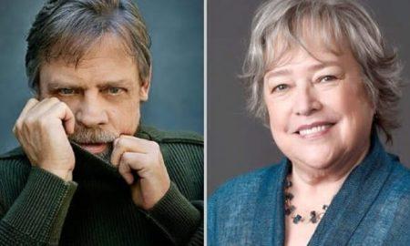 Mark Hamill e Kathy Bates. Foto: Reprodução/Instagram