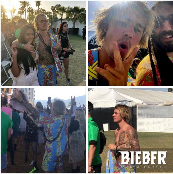 Compilação de momentos de Justin no Coachella 2018. Créditos: Bieber Mania.