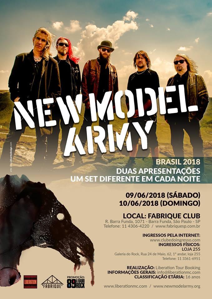 New Model Army. Foto: Divulgação