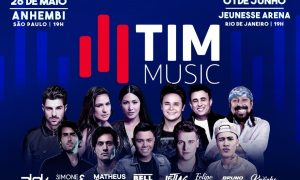 Festival TIM Music. Foto: Divulgação.