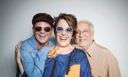 Roberto Menescal, Rodrigo Santos e Leila Pinheiro. Foto: Divulgação.