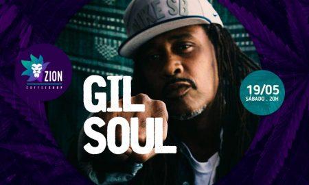 Gil Soul. Foto: Divulgação