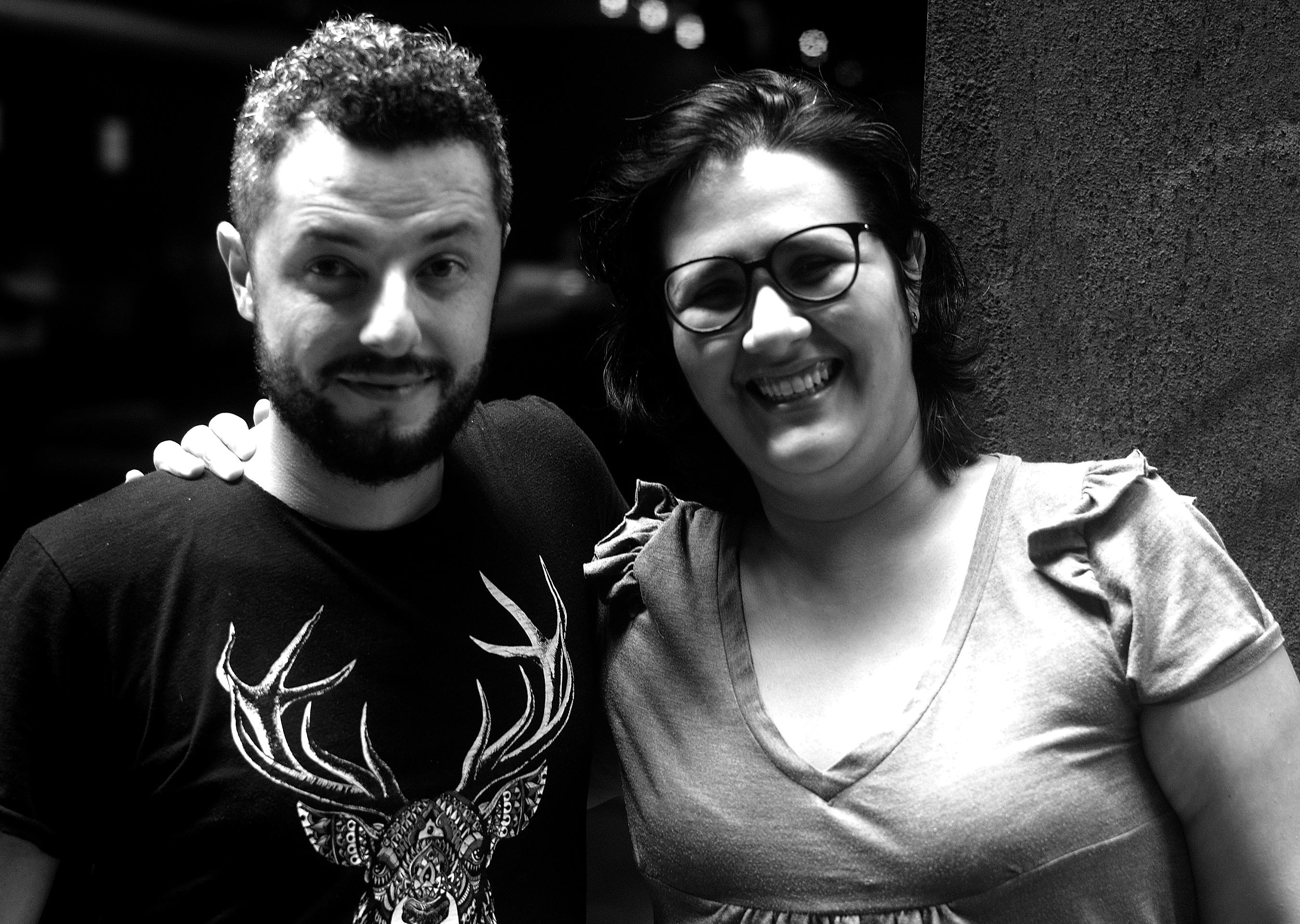 Juliana Rojas e Marco Dutra. Foto: Divulgação