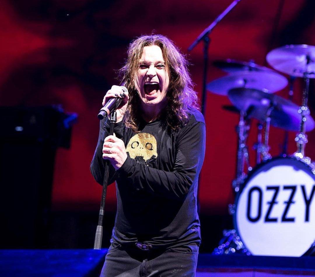 Ozzy Osbourne. Foto: Reprodução/Instagram/Ross Halfin (@OzzyOsbourne)