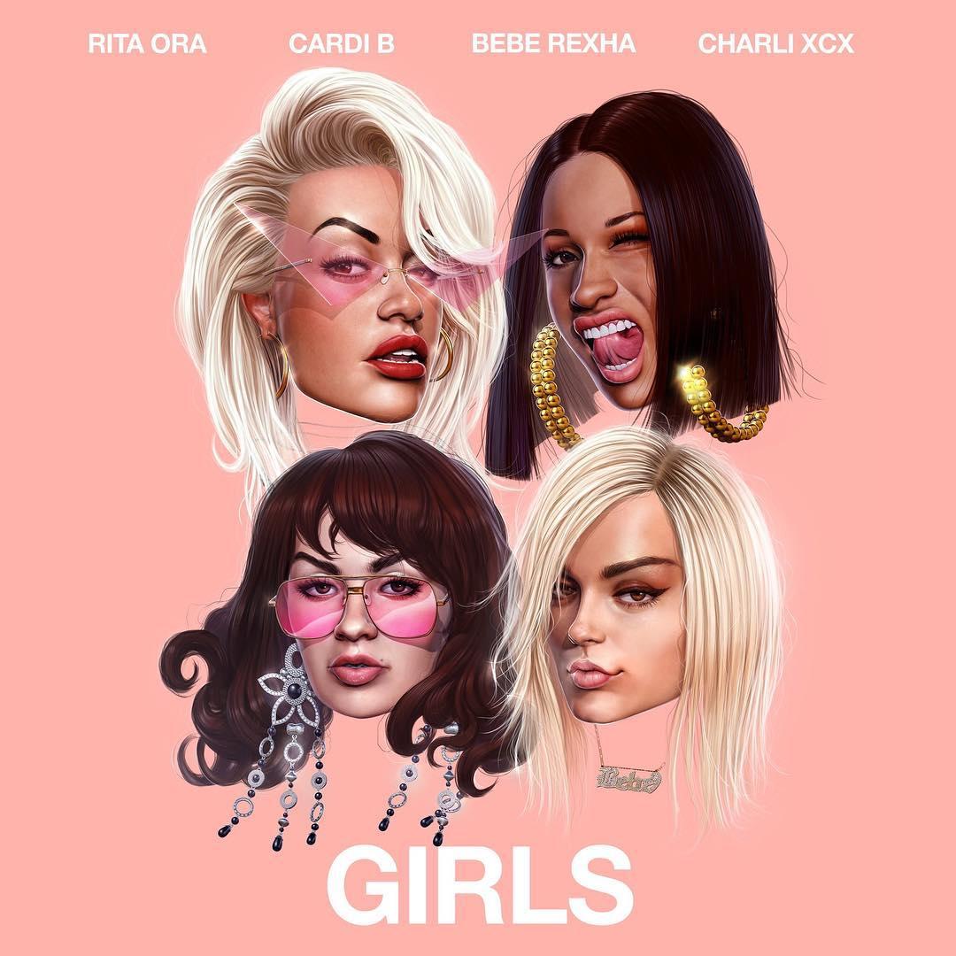 Girls. Foto: Reprodução/Instagram