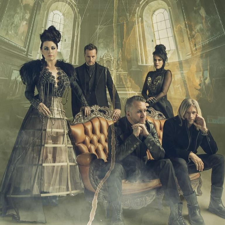 Evanescence. Foto: Reprodução/Facebook