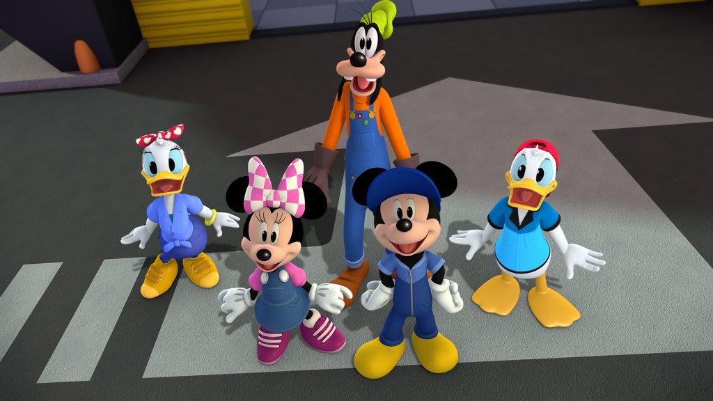 Mickey: Aventura sobre Rodas. Foto: Divulgação/Disney Junior