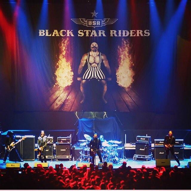 Black Star Riders. Foto: Reprodução/Instagram (@blackstarriders)