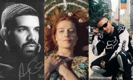 Drake, Florence e J Balvin. Foto: Reprodução/Instagram/PopNow