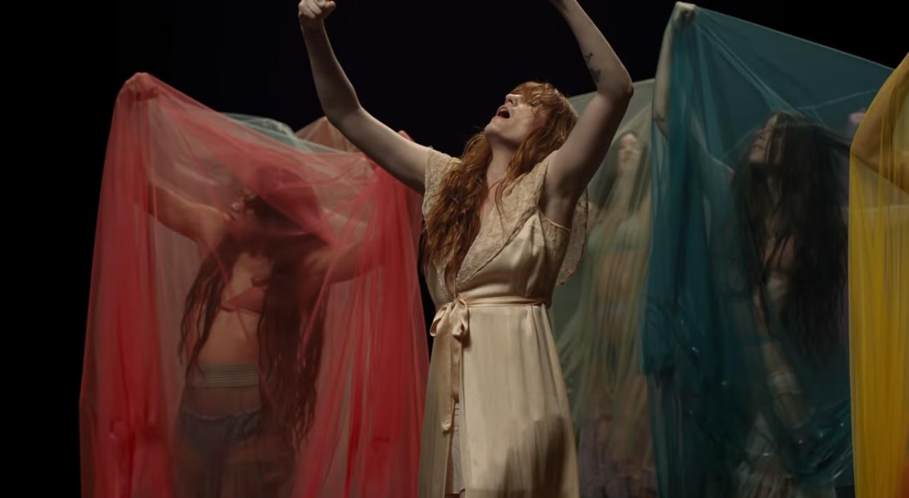 Florence Welch. Foto: Reprodução/Youtube