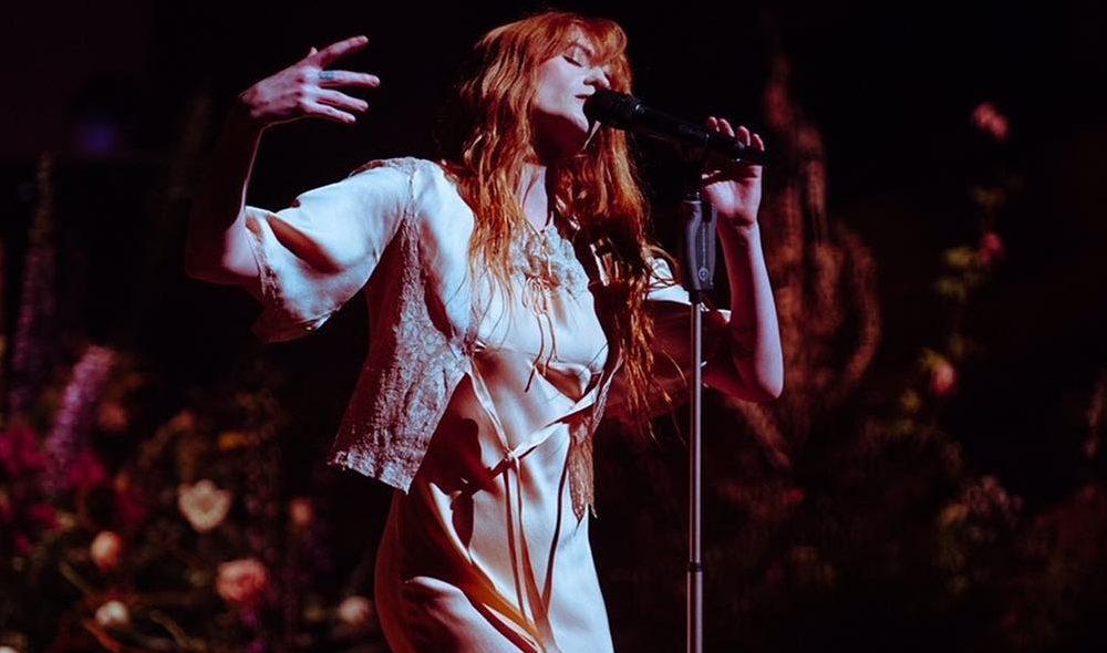 Florence Welch. Foto: Reprodução/Instagram (@florenceandthemachine)