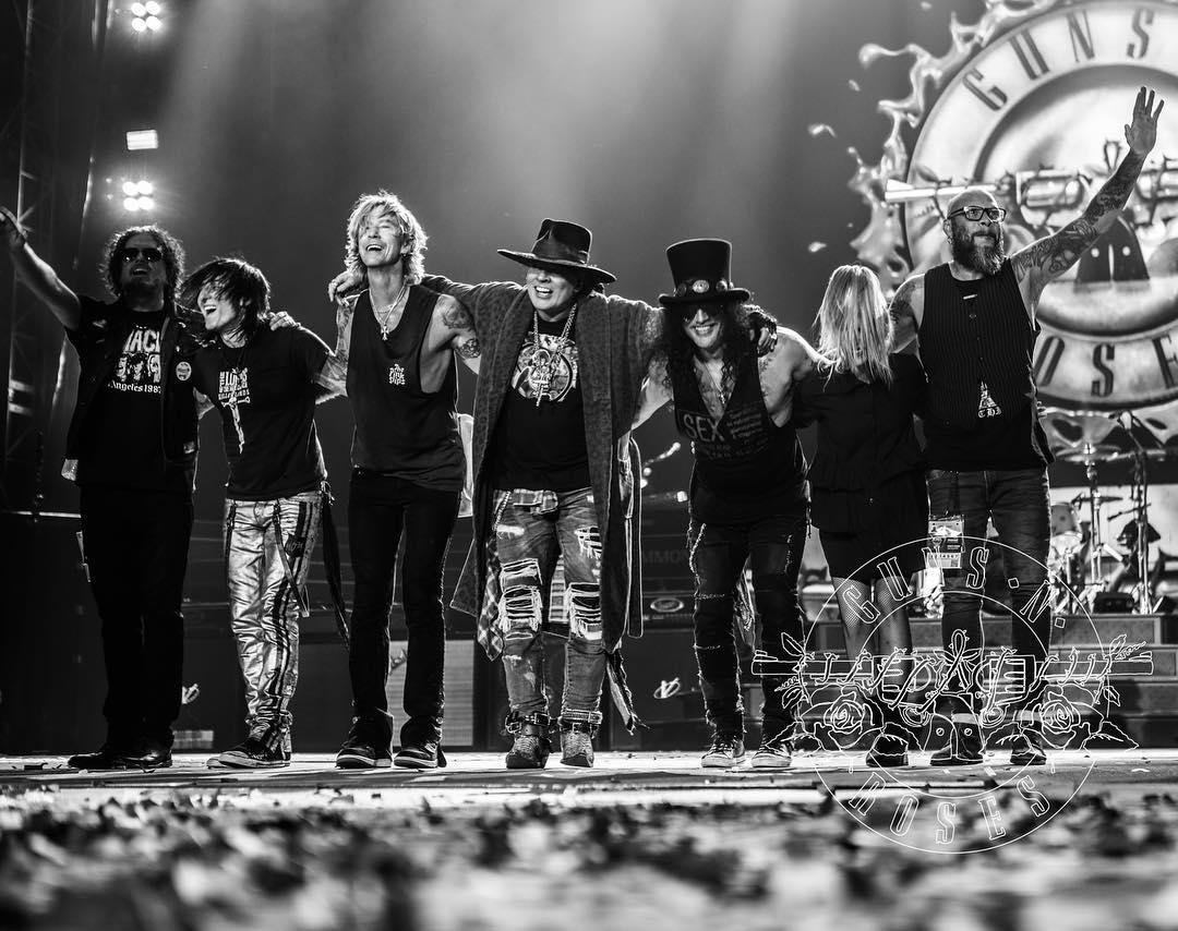 Guns 'N Roses. Foto: Repdoução/Instagram (@gunsnroses)