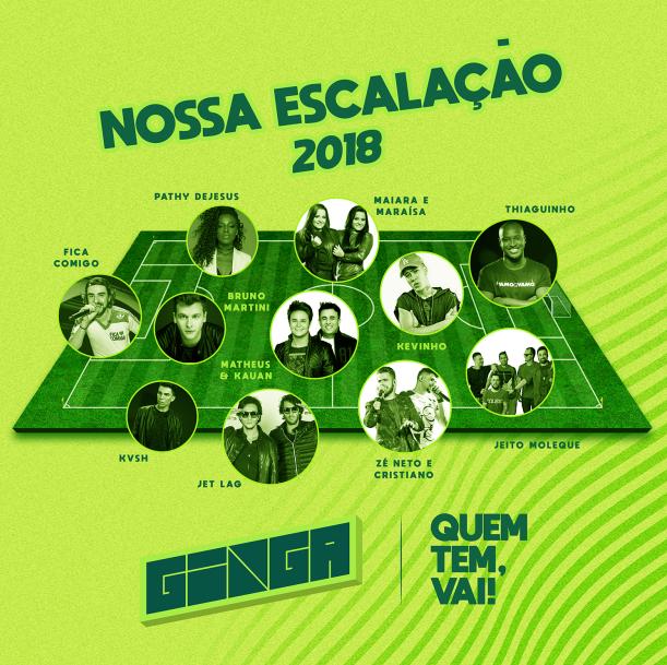 Lineup do evento. Foto: Divulgação