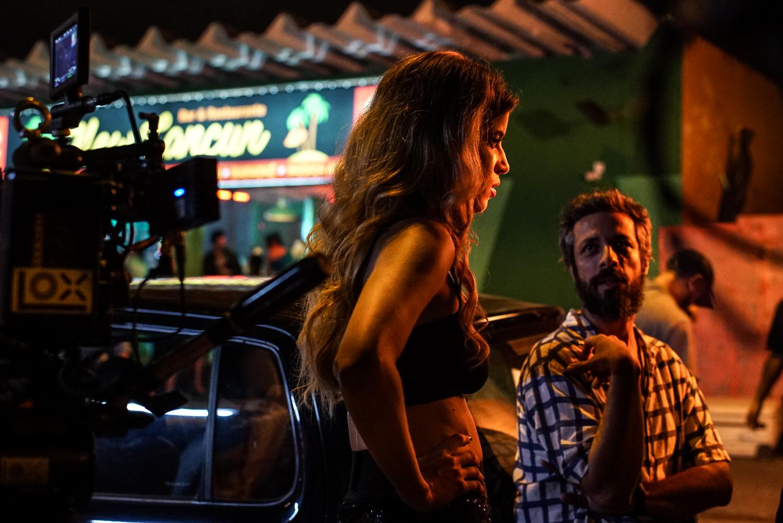 María Bopp en el Backstage de la tercera temporada de #LlamameBruna – Fox Networks Group Latin America