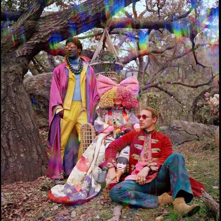LSD. Foto: Reprodução/Instagram (@siamusic)