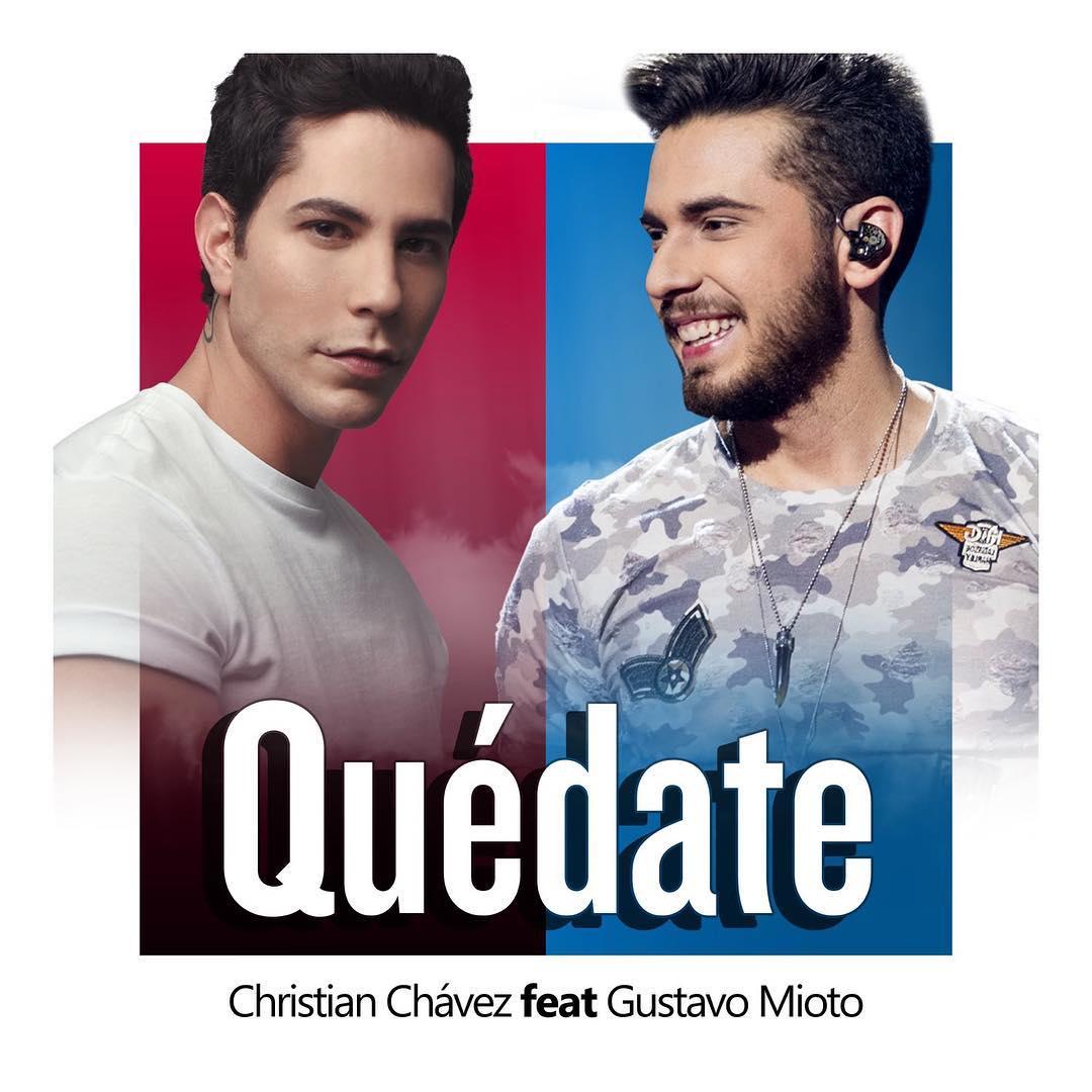 Christian Chávez e Gustavo Mioto. Foto: Divulgação