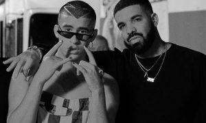 Drake e Bad Bunny. Foto: Reprodução/Instagram (@badbunnypr)