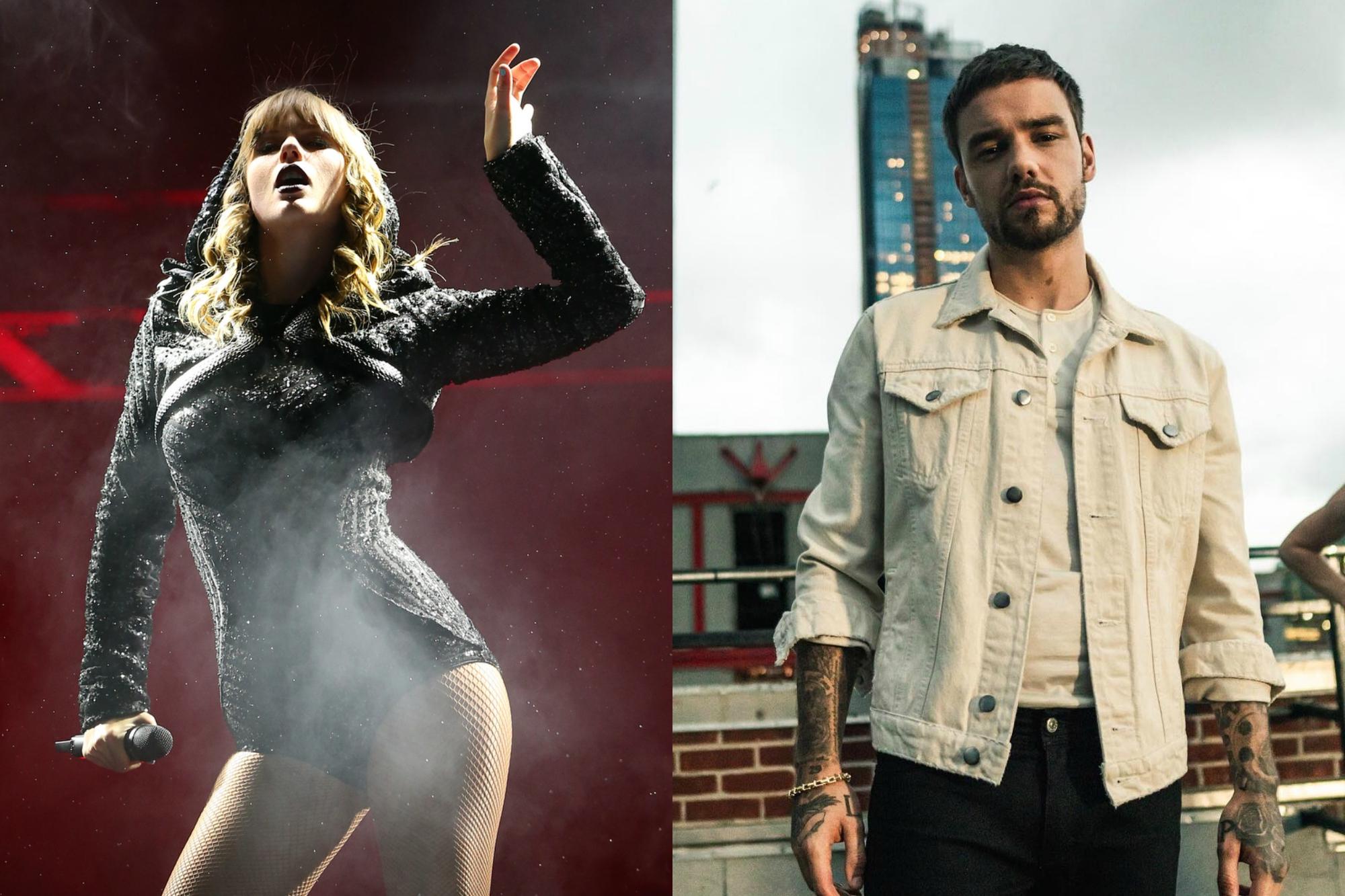 Taylor Swift e Liam Payne. Foto: Reprodução/Instagram (@taylorswift / @liampayne)