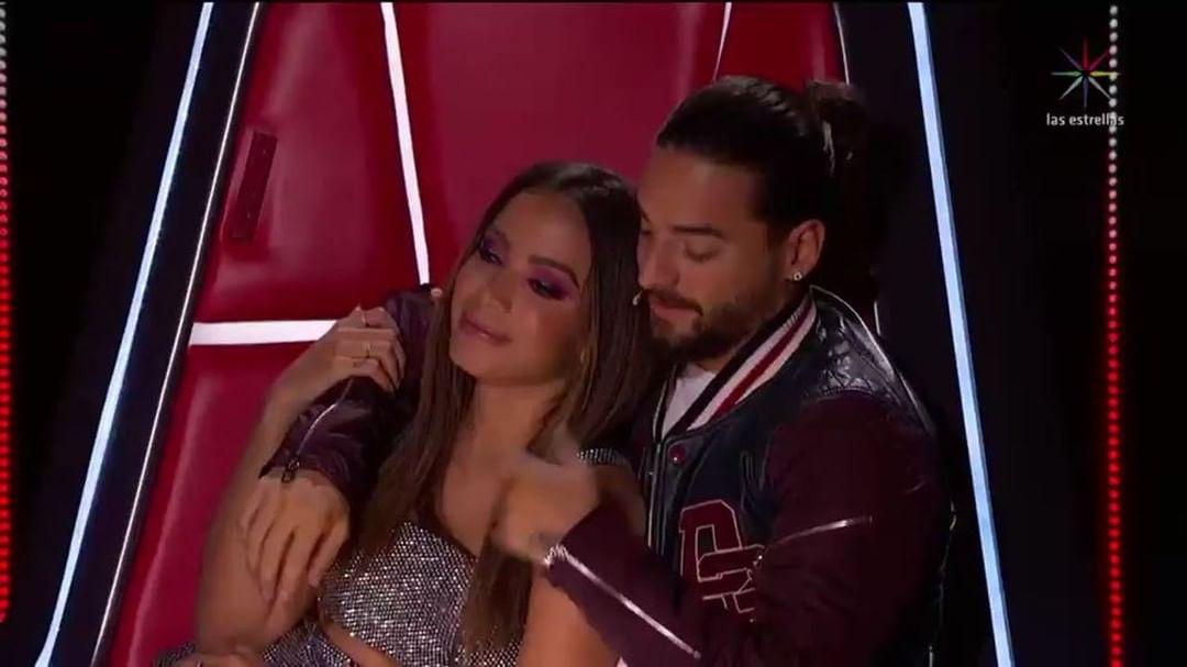 Anitta e Maluma. Foto: Reprodução/Instagram (@lavozmexico)