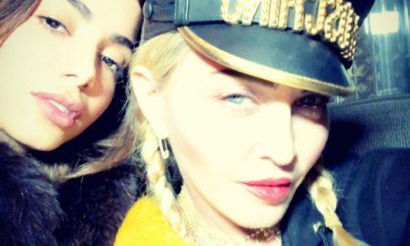Madonna e Anitta. Foto: Reprodução/Instagram (@madonna)