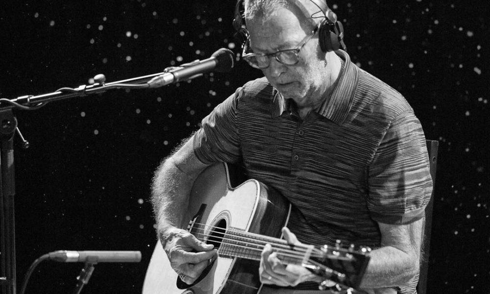 Eric Clapton. Foto: Reprodução/Instagram (@ericclapton)