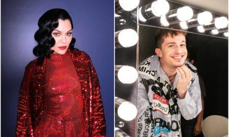 Jessie J e Charlie Puth. Foto: Reprodução/Instagram