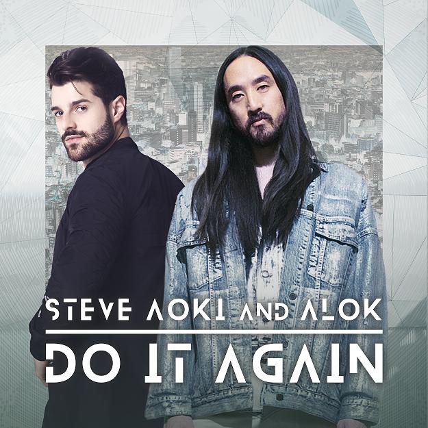 Steve Aoki e Alok. Foto: Divulgação