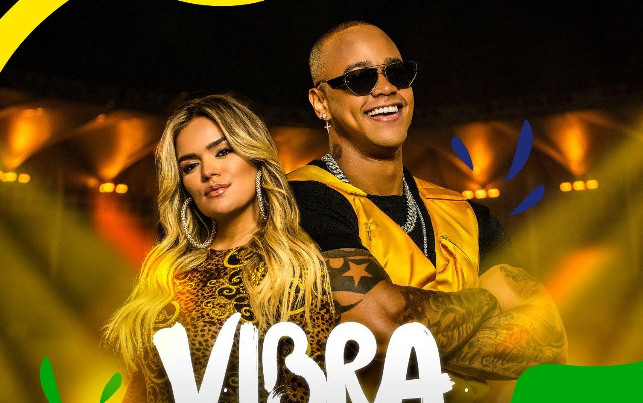 Léo Santana e Karol G. Foto: Divulgação