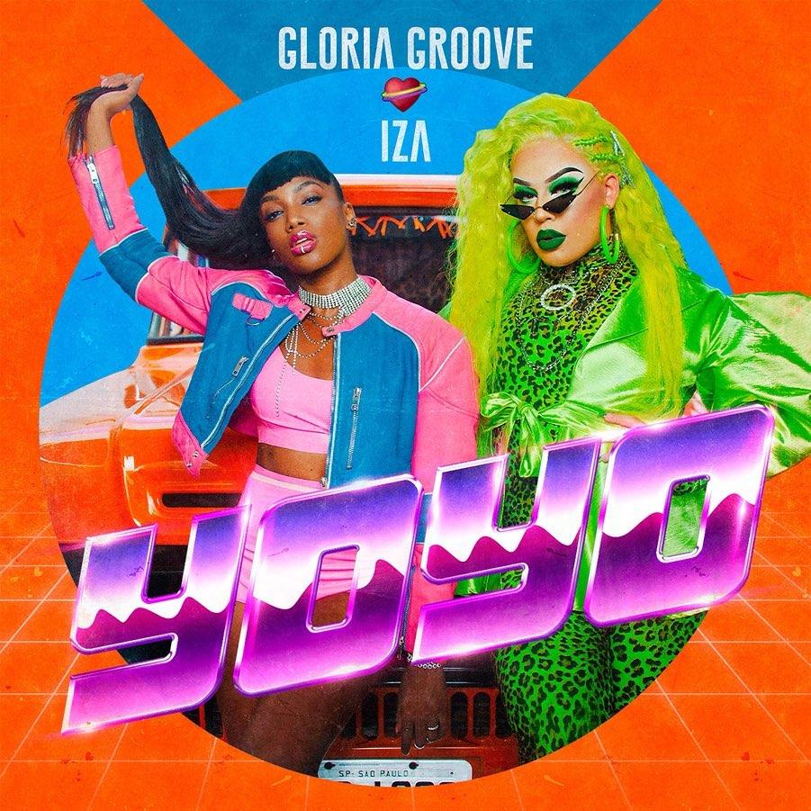 Gloria Groove e IZA. Foto: Divulgação
