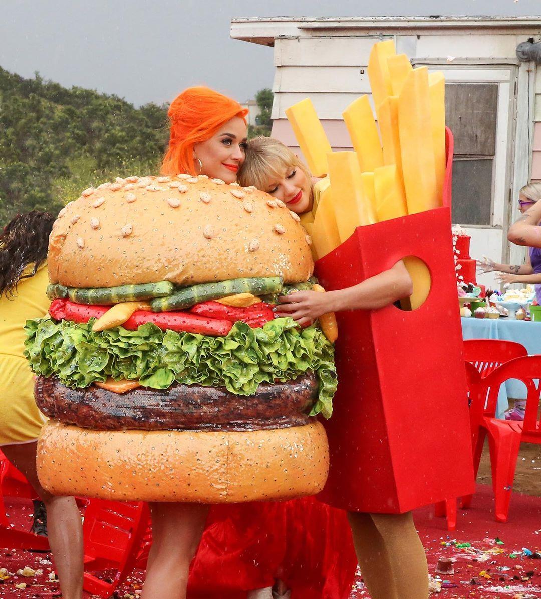 Taylor Swift e Katy Perry. Foto: Reprodução/Instagram (@taylorswift)