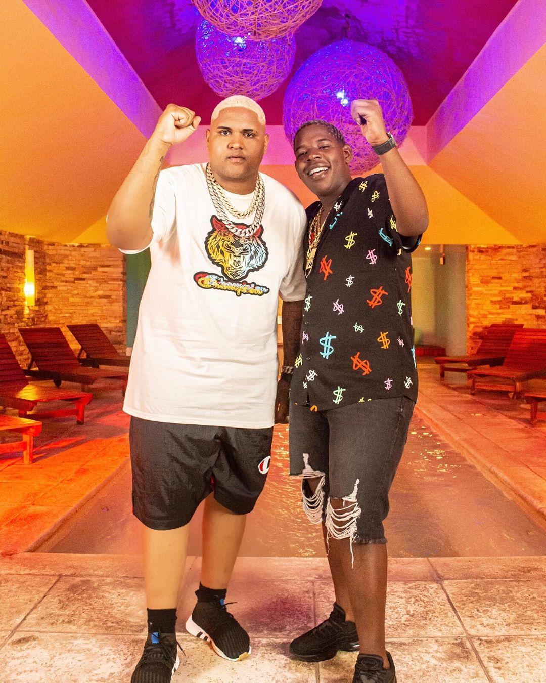 Kevin o Chris e DJ Juninho 22. Foto: Reprodução/Instagram(@kevinochris)