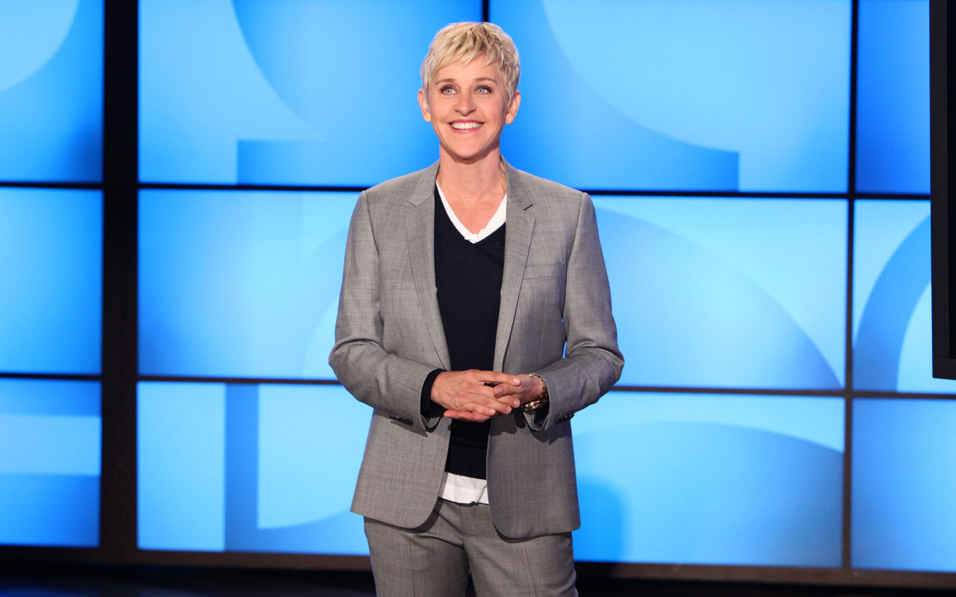 Ellen DeGeneres. Photo Credit: Michael Rozman/Warner Bros.