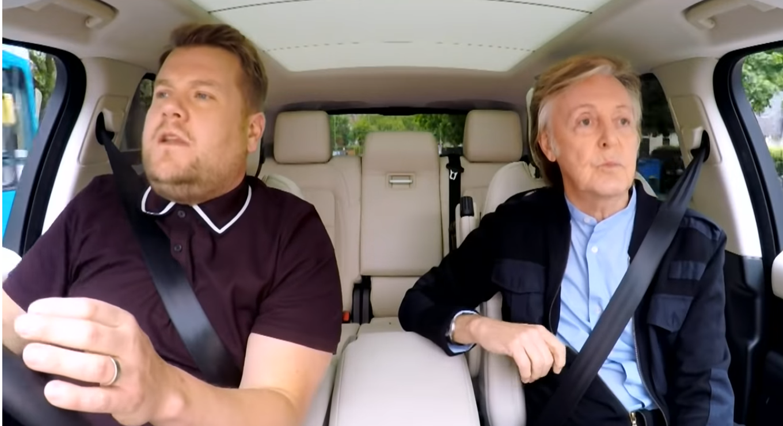 Carpool Karaoke com James Corden. Foto: Reprodução/Youtube