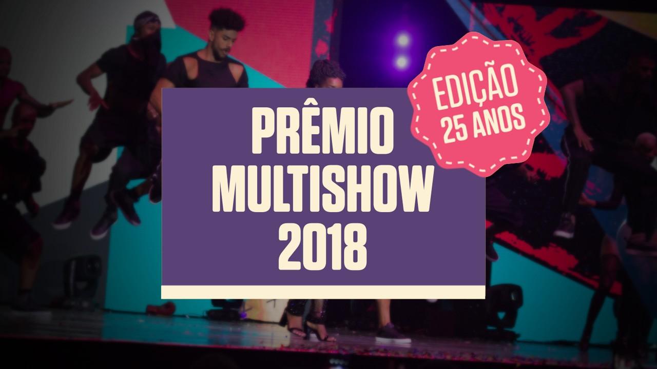 Prêmio Multishow 2018. Foto: Divulgação