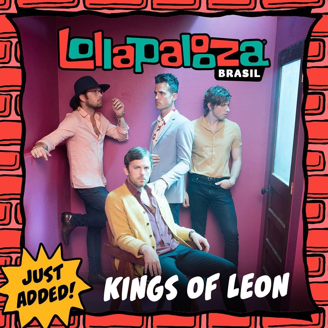Kings Of Leon. Foto: Reprodução/Instagram (@kingsofleon)