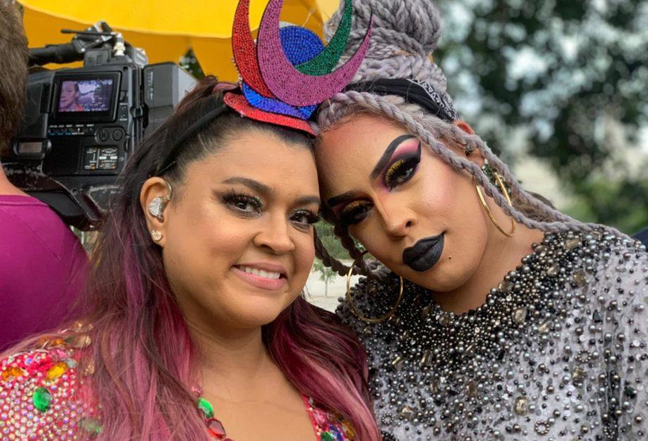 Preta Gil e Gloria Groove. Foto: Divulgação